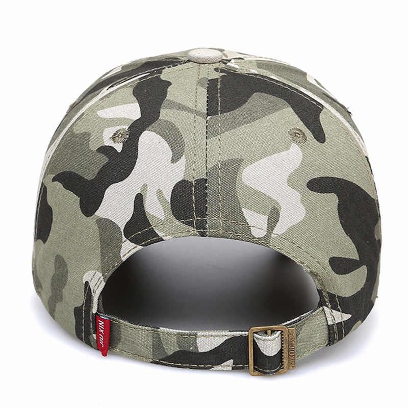 MAGCOMSEN Бейсбол шапки Для мужчин летние дышащие Военный стиль армия камуфляжные бейсболки Snapback солнцезащитные шапки мужской AG-DB-02