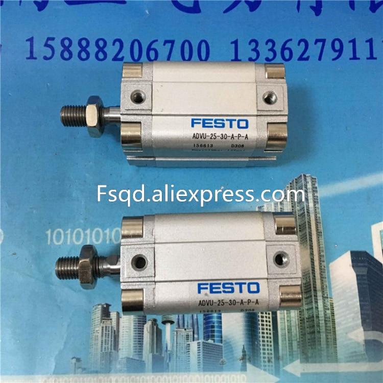 ADVU-25-30-A-P-A ADVU-25-35-A-P-A ADVU-25-40-A-P-A ADVU-25-50-A-P-A ADVU-25-80-A-P-A ADVU-25-100-A-P-A  FESTO Compact cylinders a