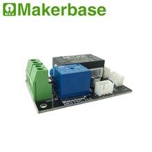 Makerbase МКС PWC V2.0 автоматическое выключение после печати конечный модул монитор контроля потребляемой мощности controllor 3D принтерами комплект изделия «сделай сам»