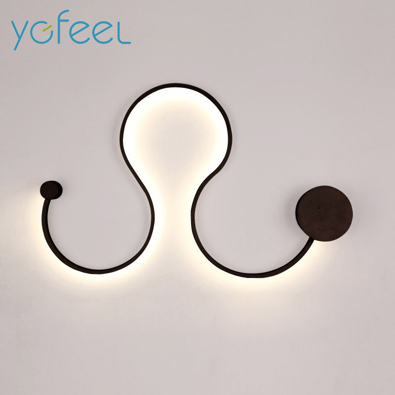 [YGFEEL] Modern LED Wall Lamp Creative Decoration Wall Sconce Bedroom Beside Lamp Study Reading Lighting Wall Light Living Room бензопила makita ea3502s40b 1700вт 400мм
