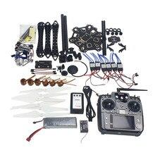 F08618-P Full Set RC Drone Aircraft Kit HMF S550 Frame 6M GPS APM 2.8 Flight Control AT10 Transmitter Gimbal Camera Mount