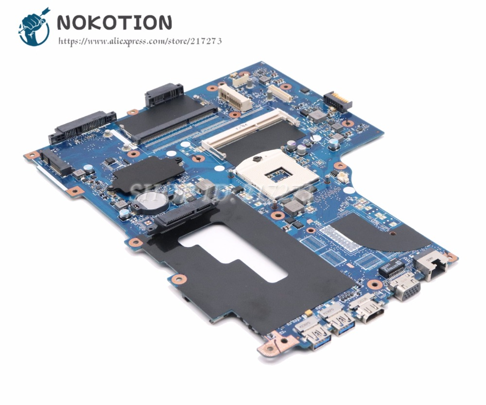NOKOTION NB.RYR11.001 NBRYR11001 For Acer Aspire V3-771 V3-771G Laptop Motherboard VA70/VG70 MAIN BOARD With Two HDD Slot