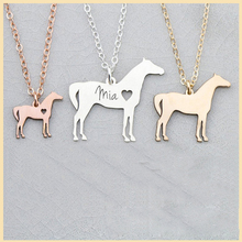 SG Personalized 925 sterling silver necklace Various animals engraving custom letter pet pendant for women wen gifts