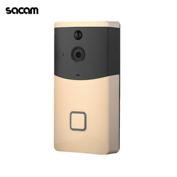 New video doorbell 720P HD WiFi camera smart doorbell real-time video two-way audio wide-angle lens night vision PIR motion dete