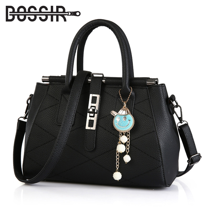 Designer Fashion Women Handbags PU Leather High Quality Solid Pattern Large Capacity Tote Top-handle Bags Shoulder Bag Women famous brand women handbags pu leather bag women tote high quality ladies shoulder bags large capacity ladies top handle bags