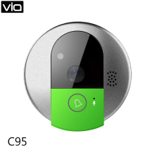 VStarcam C95 Free Shipping IP Doorcam camera eye HD 720P Wireless Doorbell WiFi Via Android Phone Control video peephole door