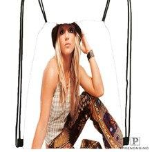 Custom Britney-Spears-American- @01  Drawstring Backpack Bag Cute Daypack Kids Satchel (Black Back) 31x40cm#20180611-02-72