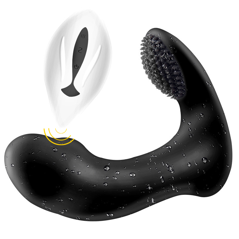 Male Prostate Massager Anal Vibrator Silicone 12 Speeds Butt Plug Sex Toys for Men Anal Toys Male Masturbator for Adult prettylove new 12 speeds prostate massager for men 3 speeds tickling prostata massage anal vibrator sex toys for men butt plug