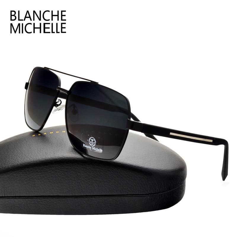Gafas de sol cuadradas de alta calidad de los hombres polarizados - Accesorios para la ropa - foto 4
