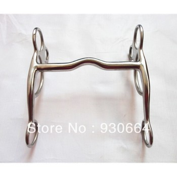 5 1/4Mouthpiece Stainless Steel Western Bit  Horse Equipment  Versatile Bit Horse Tack Equine  (H0854 )