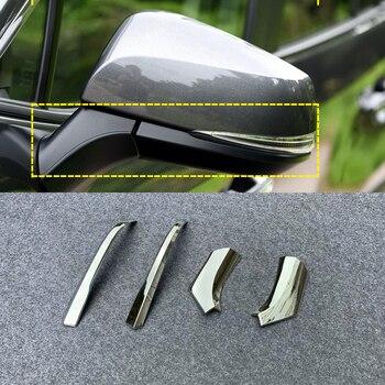 Für Toyota RAV4 2019 2020 ABS Chrom Rückspiegel Dekoration Streifen Abdeckung Trim 4 stücke Auto Styling Zubehör