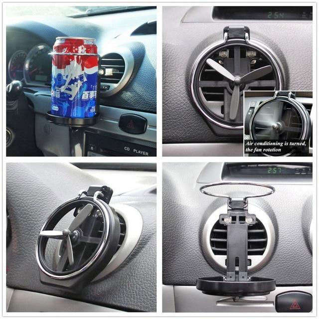voiture camion vent climatisation outlet pliage tasse deau support bouteille boisson titulaire fit pour