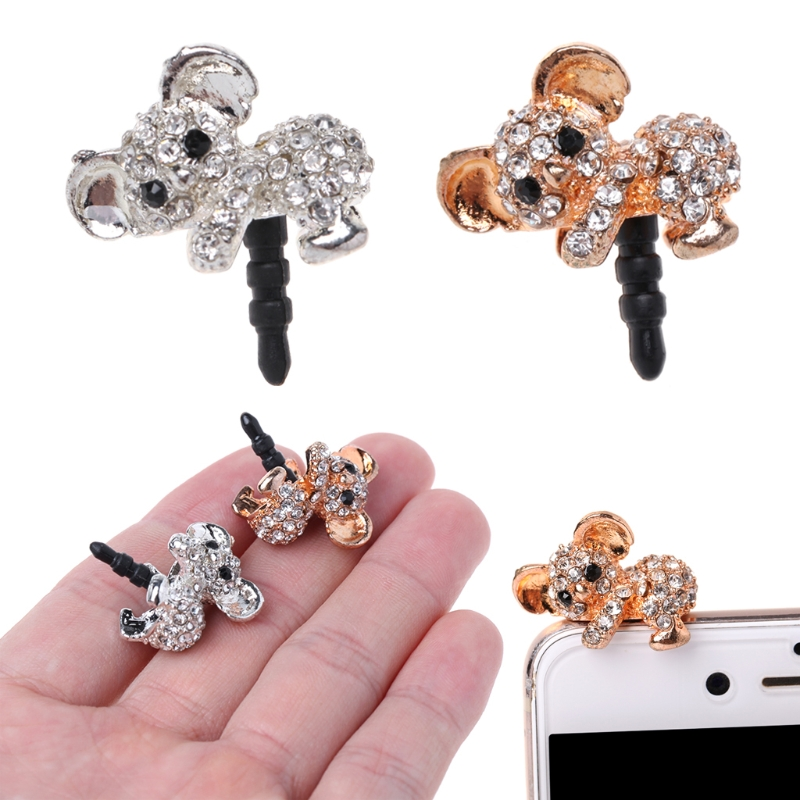 Mobile Phone 3.5mm Cute Dust Plug Gadgets Stubs For iPhone/ Samsung S7 Xiaomi