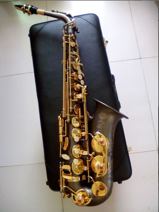 Alto Saxophone new High quality saxophone Selmer Sax instrument professional E alto Complete accessories 2016 high quality sachs alto e