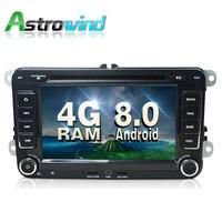 8, 4 г Оперативная память, 32 г Встроенная память, android 8.0 dvd плеер автомобиля GPS навигации Системы стерео для VW Amarok Caravelle EOS Magotan R36 Sagitar