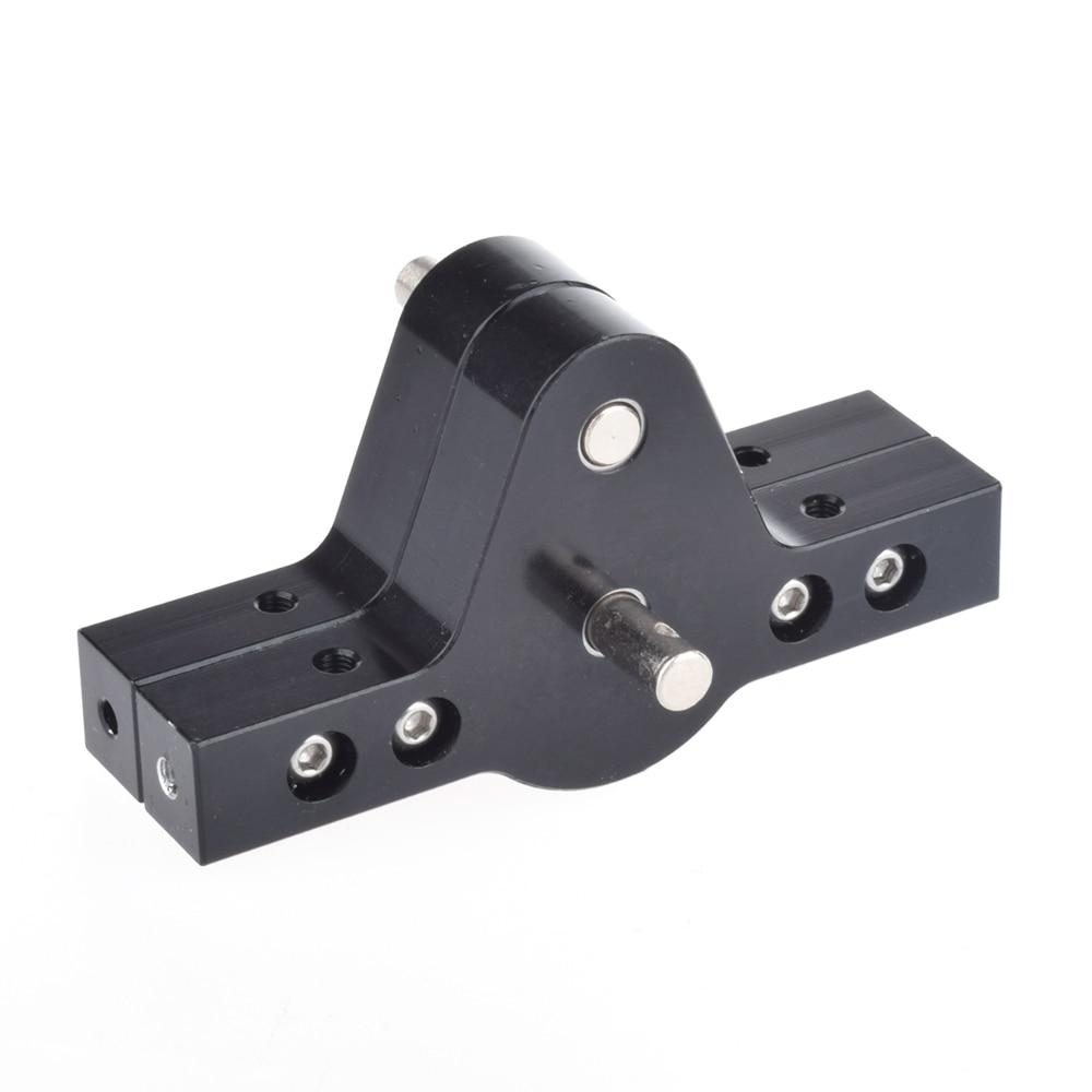 RC Crawler 1:10 Black CNC Aluminum Transfer Case For D90 SCX10 RC4WD RC Crawlers Trucks D90 Components ontology based crawler