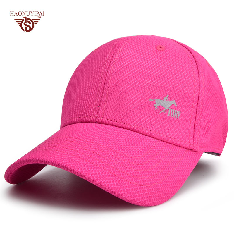 Accept Logo Customization New Breathable Cool Brand Fashion Baseball Cap Sports Snapback Outdoor Solid Hats Bone For Men Women new car brand formula one fashion laid back match car team sport baseball cap cool unisex sun outdoor hat for autumn and winter