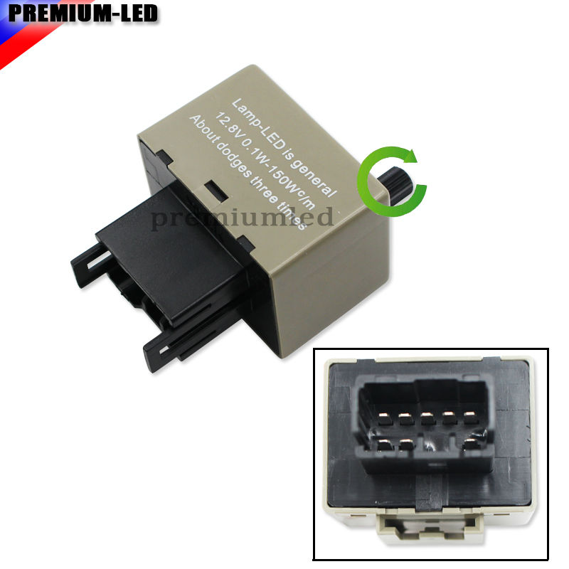 8 Pin Flashing Speed Adjustable Electronic LED Flasher Assy Relay Fix For Lexus Scion Toyota LED Turn Signal Light Bulbs|fixed|fix light  - AliExpress