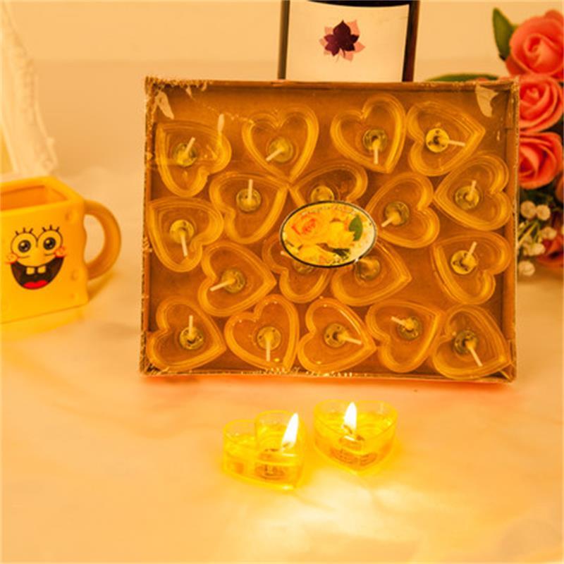 40PCS / təyin DIY Jelly Mum moda ətirli kiçik şam dumansız şam - Ev dekoru - Fotoqrafiya 6