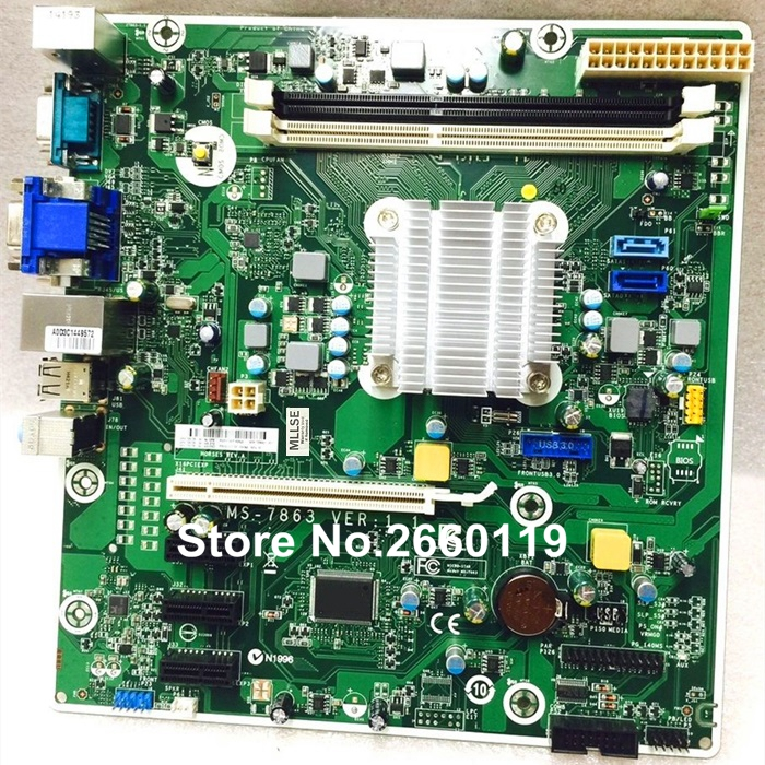 Desktop motherboard for 729726-001 729726-501 729726-601 729643-001 MS-7863 system mainboard, fully tested цена и фото