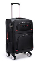 New 24 28 Inch Rolling Luggage Aluminium Frame Trolley Solid Travel Bag 20' Women Boarding Bag Carry On Suitcases Trunk