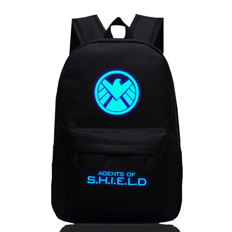 Fashion Marvel Revenge League Backpack Agents Of Shield Backpacks Men Women Mochila School Bags