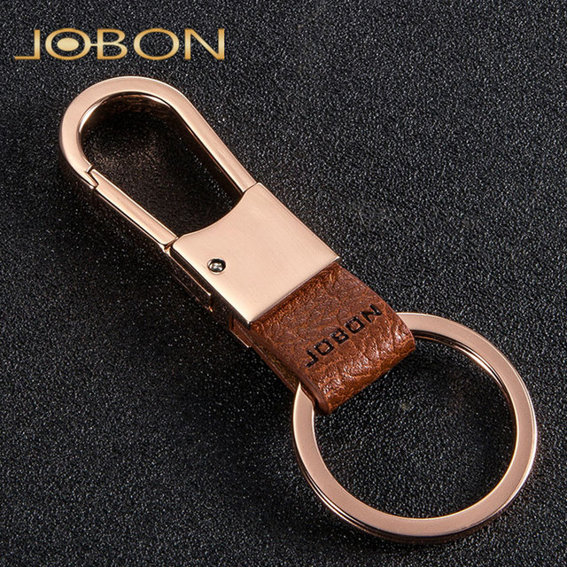 Top Quality Brand Design Leather Keychain For Women Man Luxury Key Chain Car Lovers Ring