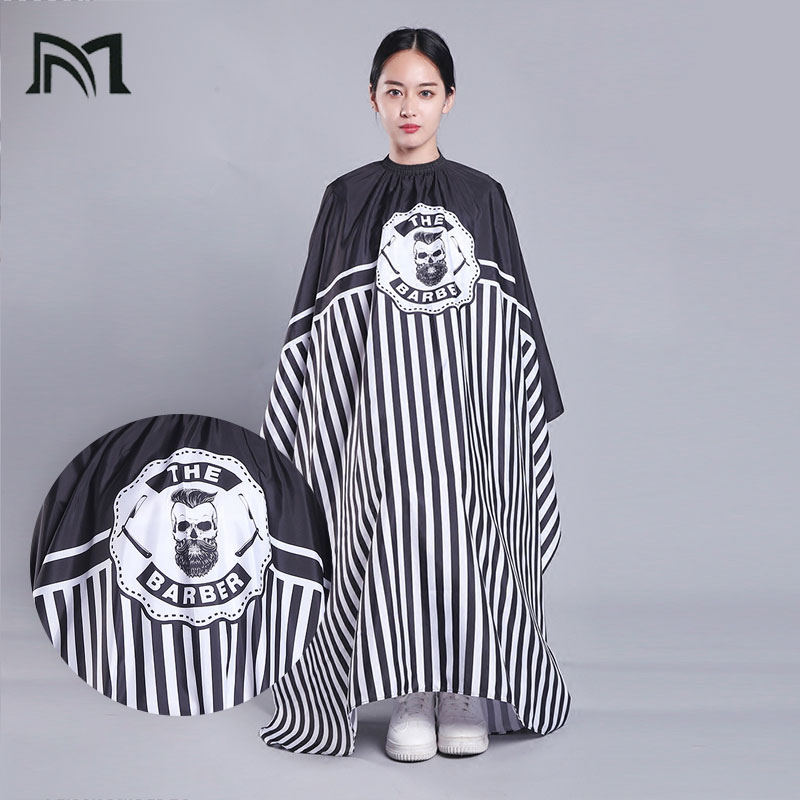 10PC 140 160CM Hairdresser Capes Salon Barber Cutting Hair Waterproof Cloth Salon Barber Gown Cape Hairdresser