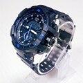 2016 de Cuarzo Hombres Del Reloj de Hora Dual Digital de Cuarzo Hombre Relojes Deportivos Hombres G Choque Militar Del Ejército LED de Pulsera Reloj Hombre