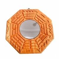 6 Inch Peach Wood Concave Bagua Mirrors Pakua /Concave Pakua /Peach Wood Concave Pakua /Bagua Mirrors J2329