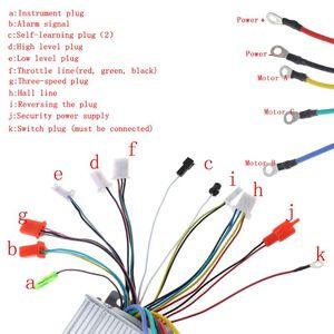Image 3 - 48 72v 1500ワット4 1でe bicyleスクーターブラシレスインテリジェントデュアルモードコントローラ