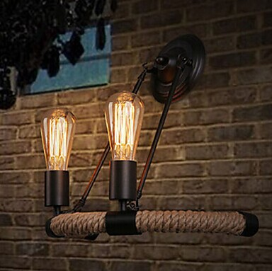2 Lights,Retro American Loft Style Vintage Industrial Wall Lamp,Edison Wall Sconce For Bedroom bar home lights,Bulb Included E27 2017 xduoo nano d3 professional lossless music mp3 hifi music player with hd oled screen support ape flac alac wav wma ogg mp3