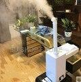 Промышленный воздух ультразвуковой увлажнитель воздуха коммерческий супермаркет овощи тумана 11L Fogger спрей анион увлажнители