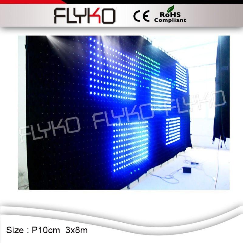 New Arrivedp100Mm 3X8M Display Fireproof Led Backdrop -3132