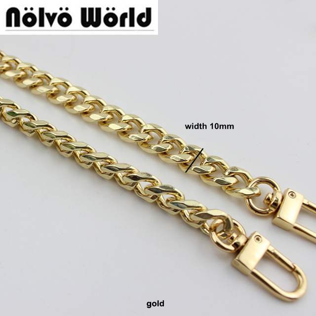 5pcs 1cm Wide 100 130cm Piece 8 Sides Curb High Quality Metal Chain