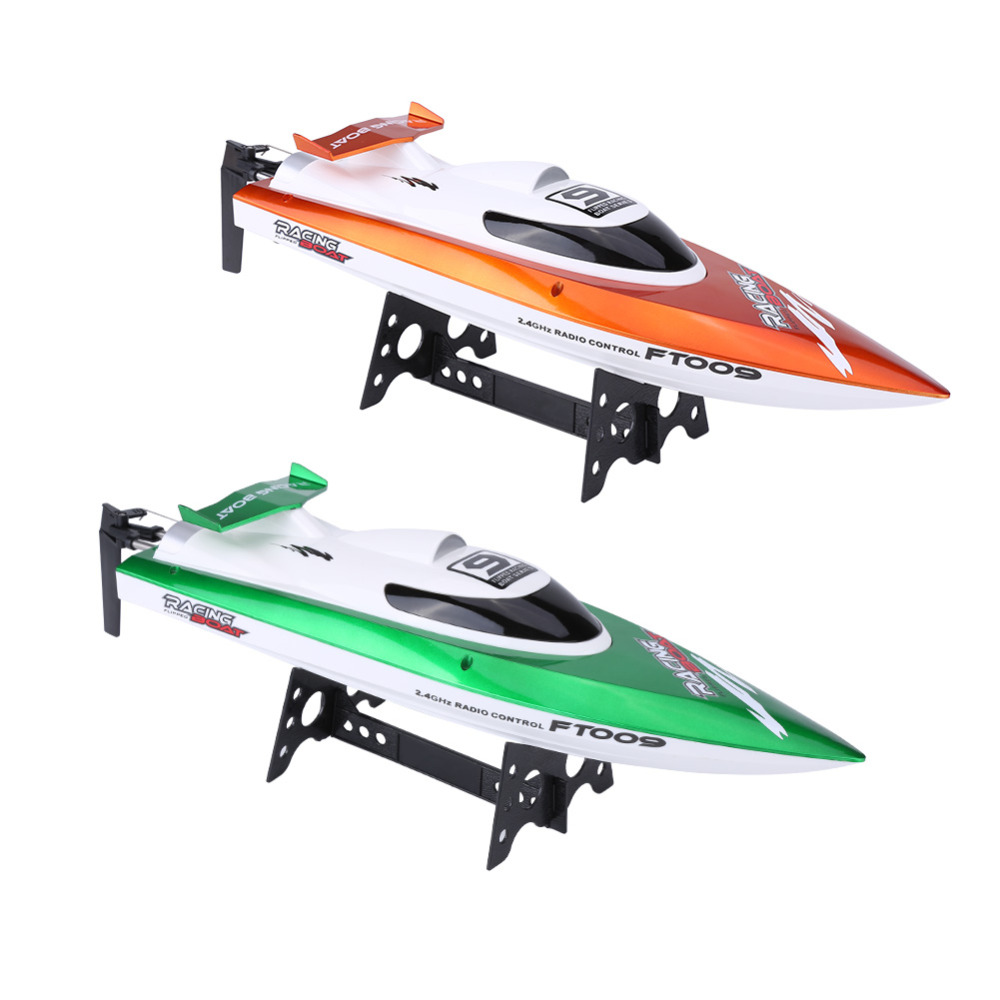 все цены на RC Speedboat 2.4GHz 30km/h 4 Channels 2 Colors 2 Types RC High Speed Boat Toy Model Toy Boat Racing Speed Boat Toy Gift For Kids