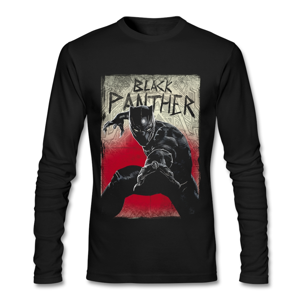 Popular black panther size buy cheap black panther size for Cheap t shirt online