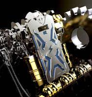 Metall Aluminium Rüstung Fall Für Samsung Galaxy Note9 abdeckung stoßfänger schützen Für Samsung Hinweis 9 Luxus Heavy Duty telefon fall
