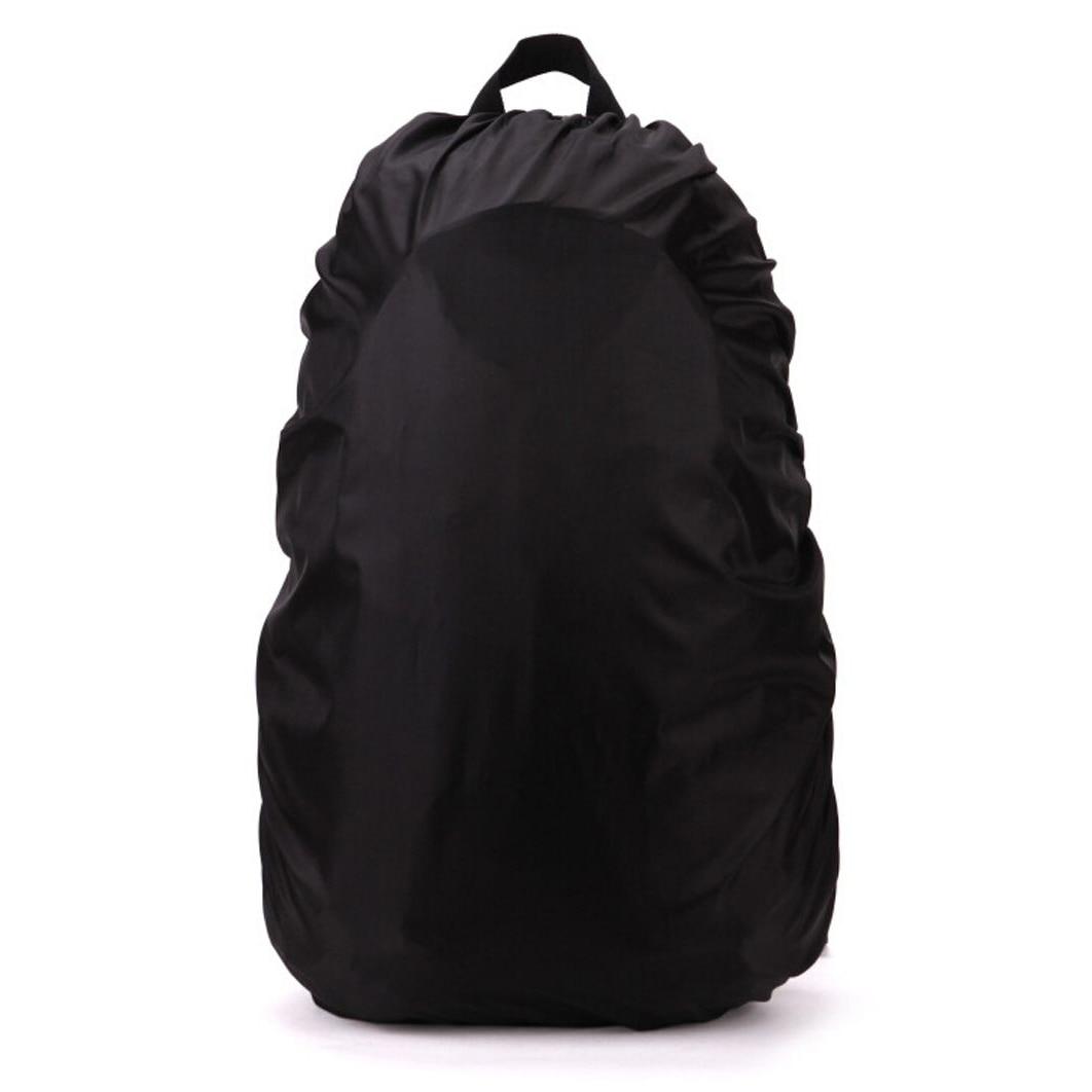 New Waterproof Travel Accessory Backpack Dust Rain Cover 45L,Black