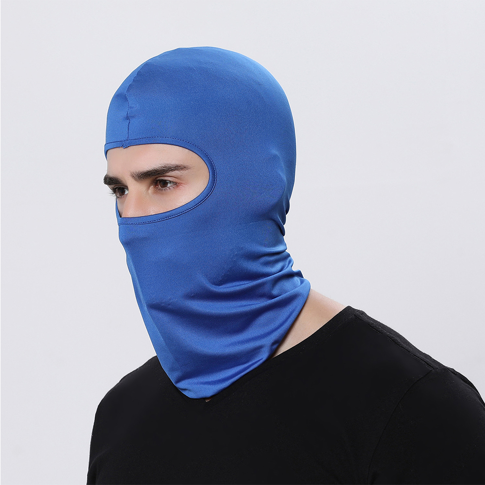Image 4 - Motorcycle Balaclava Full Face Mask Warmer Windproof Breathable Airsoft Paintball Cycling Ski Shield Anti UV Men Sun Hats Helmet-in Motorcycle Face Mask from Automobiles & Motorcycles