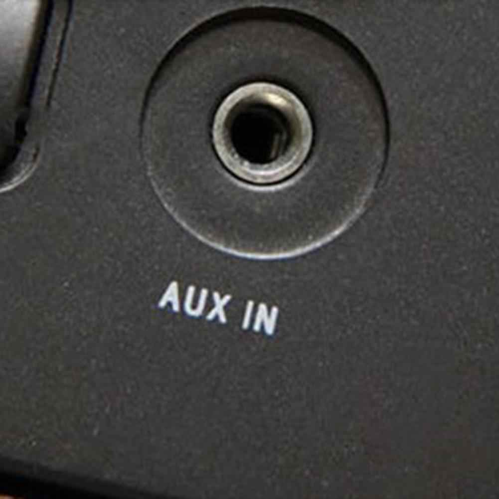 سيارة MP3 3.5 مللي متر ذكر AUX وصلات صوت جاك إلى USB 2.0 أنثى محول كابل سماعة وصلة كابل بولي كلوريد الفينيل عالية الجودة لفورد/Bmw/SUV