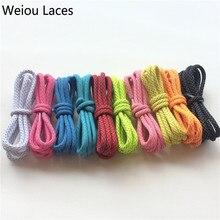 цена на (30 pairs/Lot) Weiou wholesale shoe laces different color shoelaces 3m laces plastic tips reflective sports shoelace 43''/110cm