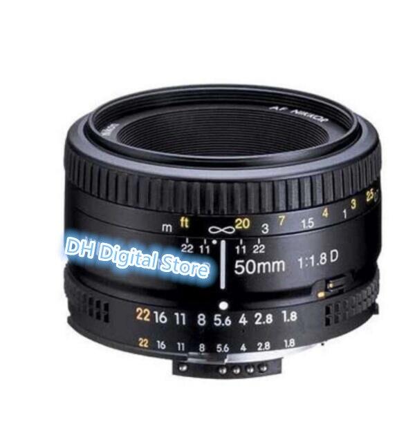 95% nouveau POUR Nikon 50mm f/1.8D Lentilles pour Nikon D90 D300 D7000 D7100 D7200 D7300 D700 D800 D810 D750 D610 D500 D4s D5