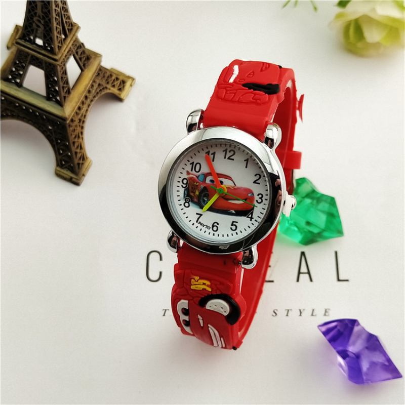 Children's Watches New 2018 Fashion Cool Mickey Cartoon Watch For Children Girls Leather Digital Watches For Kids Boys Christmas Gift Wristwatch