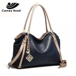 Image 5 - แฟชั่นผู้หญิงกระเป๋าถือขนาดใหญ่ความจุกระเป๋าหนัง PU Hobo Messenger กระเป๋าคุณภาพสูง