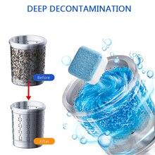 Очиститель для стиральной машины, очиститель от накипи, глубокий фильтр, сетка, мешок для очистки, для удаления грязных волокон, дезодорант, прочные шарики для стирки, диски