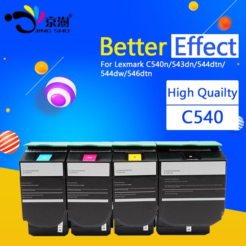 1pcs C540 Toner Cartridge Compatible for Lexmark C540n C543dn C544dtn C544dw C546dtn printer