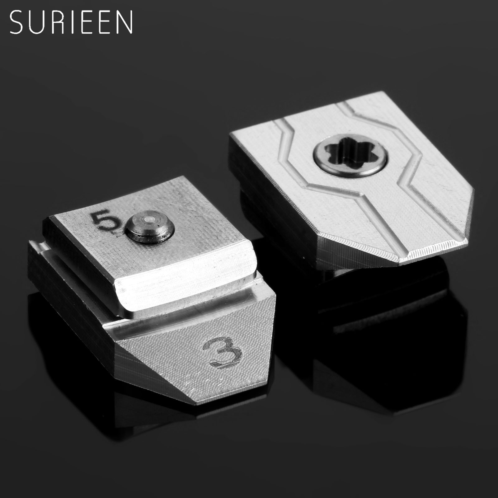 SURIEEN 2017 8g Golf Weight Movable Sliding Slider Adapter For Taylormade R15 Driver Add Head Swing Weights Silver Sports Golfer