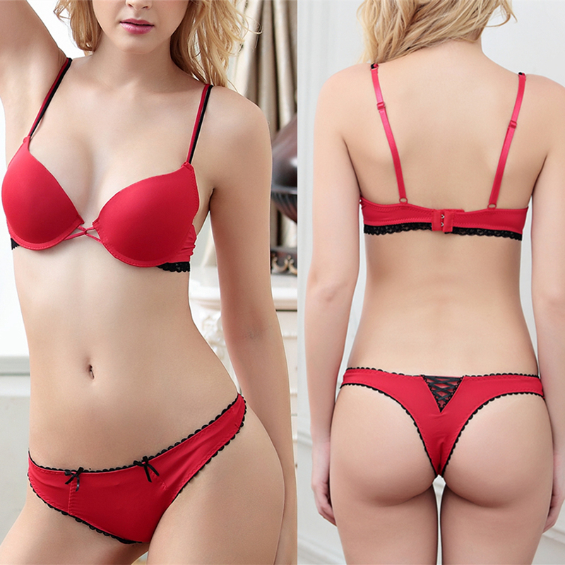 Sexy Women Underwear Seamless Lace Lingerie Support -7480