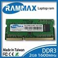 Ноутбук Оперативной Памяти DDR3 2GB   4GB   8 ГБ SO-DIMM1600Mhz Non-ECC Памяти PC3-12800 204pin/CL11 высокая совместимость со всеми материнской платы Ноутбука
